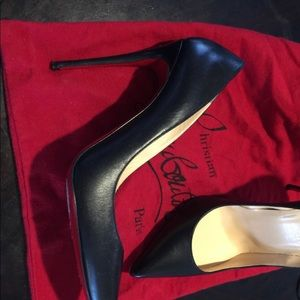 Size 40 Louboutins.  Soles covered * PRICE IS FIRM